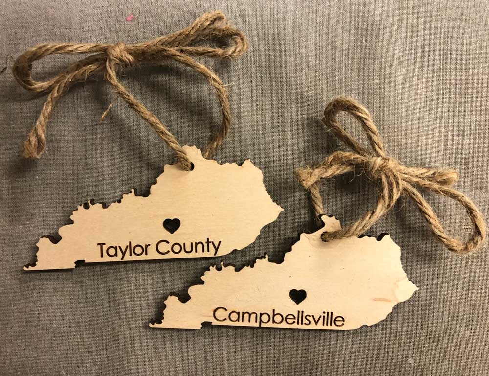 Campbellsville and Taylor County Ornaments